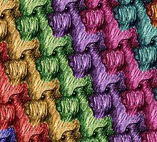 Rainbow Pups by Katrina Larock
