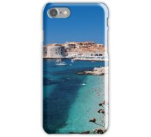 Croatia by the Beach iPhone Case/Skin