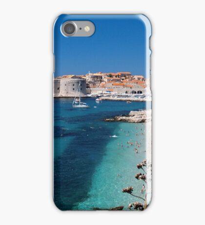 Croatia by the Beach iPhone Case/Skin