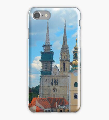 Croatia Skyline iPhone Case/Skin