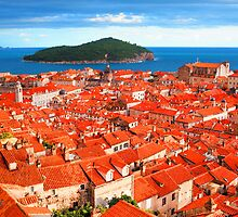 Croatia Rooftops by JessicaRoss