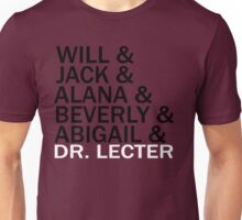 Hannibal Cast Unisex T-Shirt