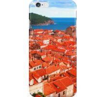 Croatia Rooftops iPhone Case/Skin