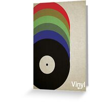 Music Rainbow Greeting Card