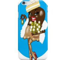 SEXY WOMAN CARTOON iPhone Case/Skin