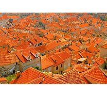 Croatia Buildingtops Photographic Print