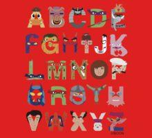Teenage Mutant Ninja Turtle Alphabet One Piece - Short Sleeve
