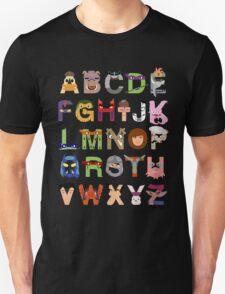 Teenage Mutant Ninja Turtle Alphabet T-Shirt
