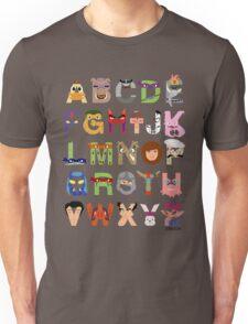 Teenage Mutant Ninja Turtle Alphabet Unisex T-Shirt