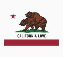 California Love State Bear Lovers Flag by RexLambo