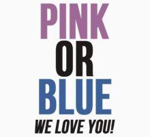 Pink or Blue Baby Gender Reveal by Alan Craker