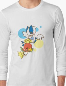 Lugia And Ho-Oh Long Sleeve T-Shirt