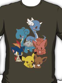 Dragonair/Lapras/Vulpix/Eevee/Pikachu/Quilava T-Shirt