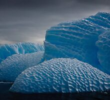 Heavily Patterned Iceberg Antarctica by Robert van Koesveld