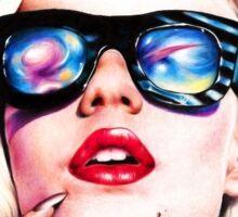 Iggy Azalea- Blue Sticker