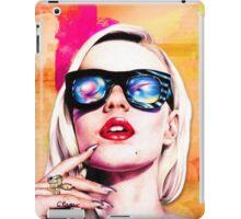 Iggy Azalea- Orange/Pink iPad Case/Skin