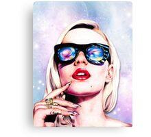 Iggy Azalea- Pink/Purple Canvas Print