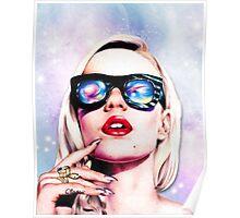 Iggy Azalea- Pink/Purple Poster