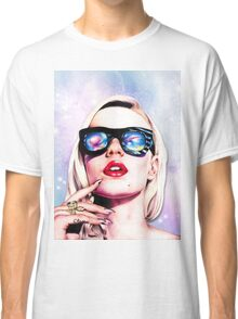 Iggy Azalea- Pink/Purple Classic T-Shirt