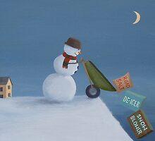Snowman Survival Stragtegies by PhyllisGAndrews