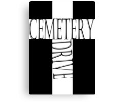 My Chemical Romance Poster Cemetery Drive Canvas Print