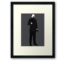 Doctor Who Enemies - The Master - Roger Delgado Framed Print