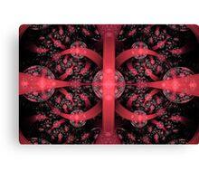 Red  Xenophilia Canvas Print