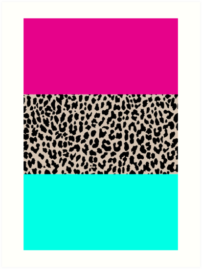 Leopard National Flag by M Studio Designs