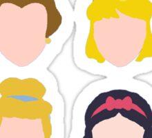 All the Princesses Sticker