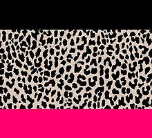 Leopard National Flag IV by M Studio Designs