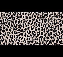 Leopard National Flag VI by Mary Nesrala