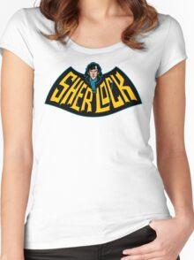 Sherlock Logo Women's Fitted Scoop T-Shirt
