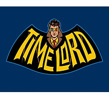 Time Lord Logo Photographic Print