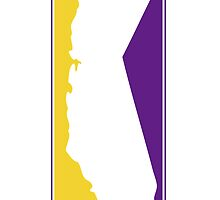 California Logo Purple and yellow by NorCal