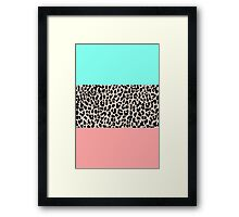 Leopard National Flag VIII Framed Print