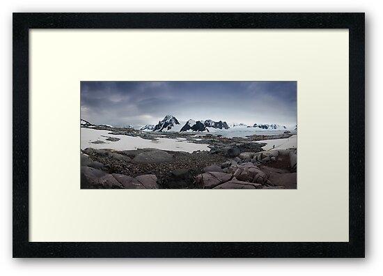 Petermann Island Landscape by Robert van Koesveld