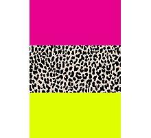 Leopard National Flag X Photographic Print
