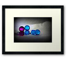 Cubes & Spheres Framed Print