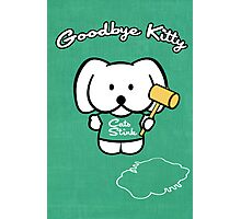 Goodbye Kitty Photographic Print