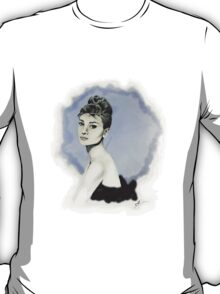 Audrey in Vector T-Shirt