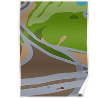 North Texas Highway from the Migration Series Poster