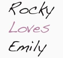 Rocky Loves Emily Kids Clothes