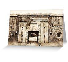 Fort Morgan, AL Greeting Card