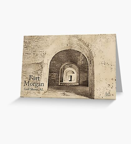 Fort Morgan, AL Greeting Card