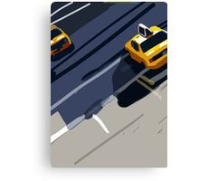 Taxis No. 1 from the Migration Series Canvas Print