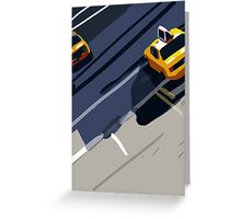 Taxis No. 1 from the Migration Series Greeting Card