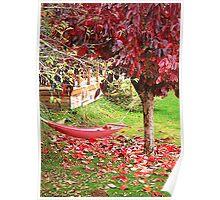Autumn Hammock Poster