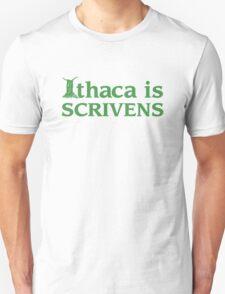 Ithaca Ivy League (GREEN TEXT) T-Shirt