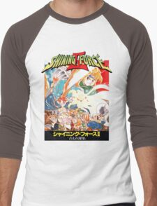 Shining Force II Japanese  Men's Baseball ¾ T-Shirt