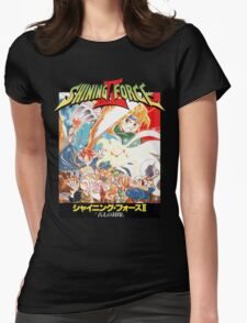 Shining Force II Japanese  Womens Fitted T-Shirt
